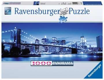 Ravensburger 15050 Leuchtendes New York 1000 Teile Panorama Puzzle