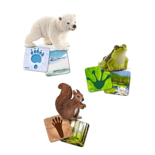 Schleich 42474 Schleich Lernkarten Wild Life