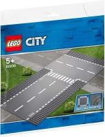 LEGO® 60236 City Gerade und T-Kreuzung