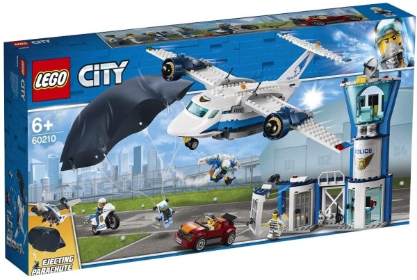 LEGO® 60210 City Polizei Fliegerstützpunkt