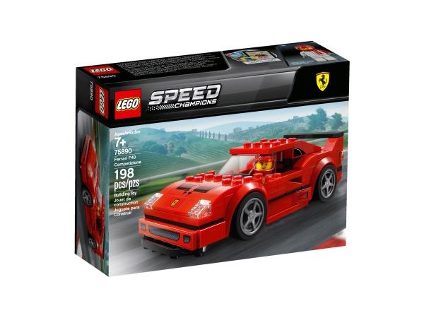 LEGO® 75890 Speed Champions Ferrari F40 Competizione