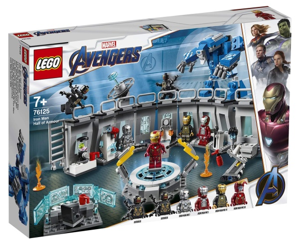 LEGO® 76125 Marvel Super Heroes Avengers Iron Man Hall of Armour