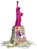 Ravensburger 12597 Freiheitsstatue Pop Art 108 Teile 3D...