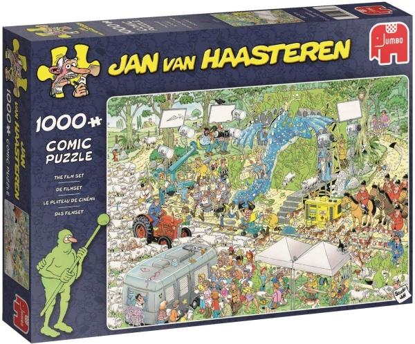 Jumbo 19074 Jan van Haasteren - Das Filmset 1000 Teile Puzzle