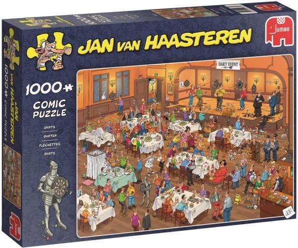 Jumbo 19076 Jan van Haasteren - Das Dart-Turnier 1000 Teile Puzzle