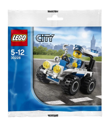 LEGO® 30228 City Police ATV Polybag