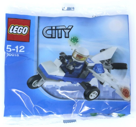LEGO® 30018 City Police Plane Polybag