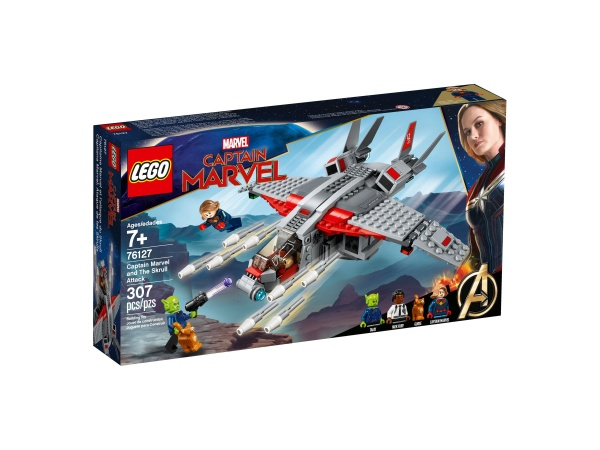 LEGO 76127 Marvel Super Heroes Captain Marvel u.d.Skrull-Attacke
