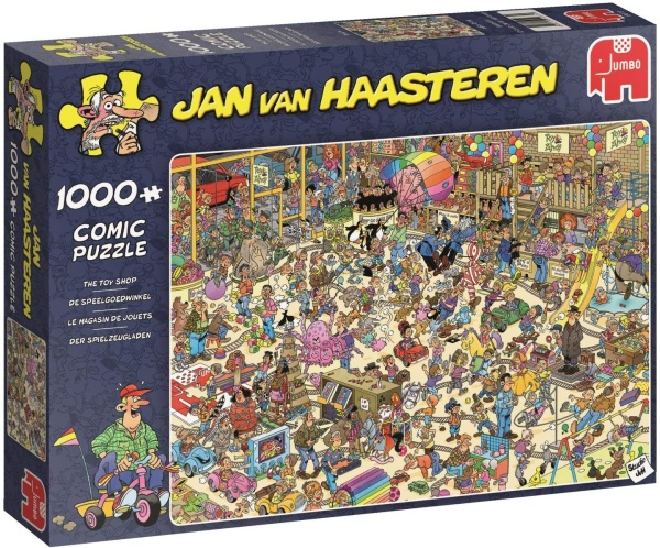 Jumbo 19073 Jan van Haasteren - Das Spielzeuggeschäft 1000 Teile Puzzle