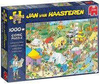 Jumbo 19086 Jan van Haasteren - Camping im Wald 1000...