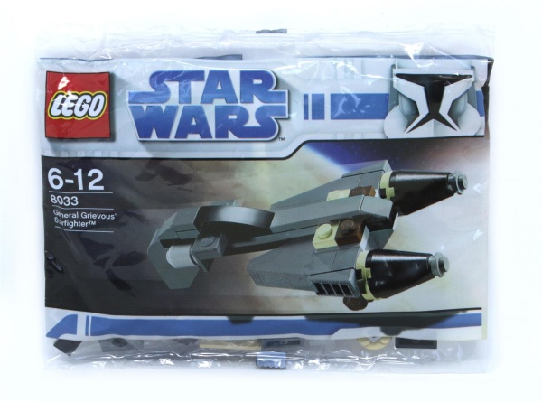 LEGO® 8033 Star Wars General Grievous Starfighter Polybag