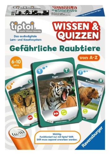 Ravensburger 00752 Wissen&Quizzen: Gefährliche Raubtiere