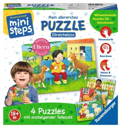 Ravensburger 04535 ministeps Mein allererstes Puzzle Streichelzoo