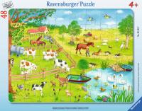 Ravensburger 06145 Spaziergang auf dem Land 48 Teile...