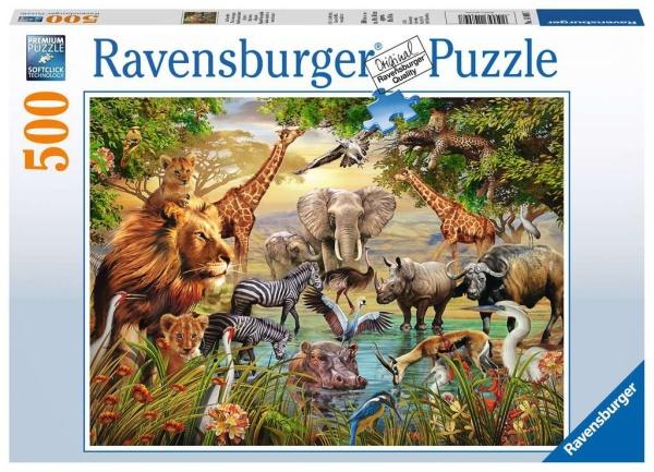 Ravensburger 14809 Am Wasserloch 500 Teile Puzzle