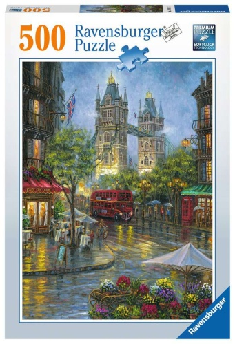 Ravensburger 14812 Malerisches London 500 Teile Puzzle