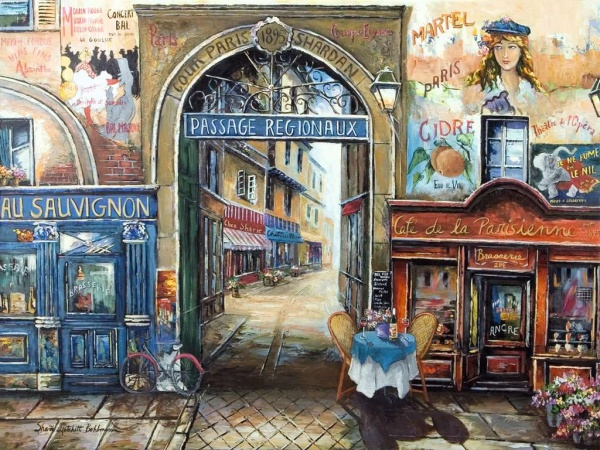 Ravensburger 16241 Passage to Paris 1500 Teile Puzzle