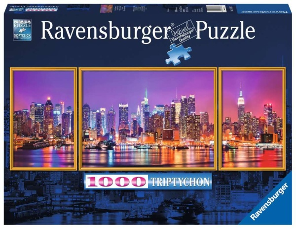 Ravensburger 19792 New York Triptychon 1000 Teile Panorama Puzzle