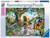 Ravensburger 19837 Abenteuer im Dschungel 1000 Teile Puzzle