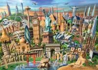 Ravensburger 19890 Sehenswürdigkeiten Weltweit 1000 Teile Puzzle