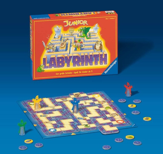 Ravensburger 21210 Junior Labyrinth Kinderspiel