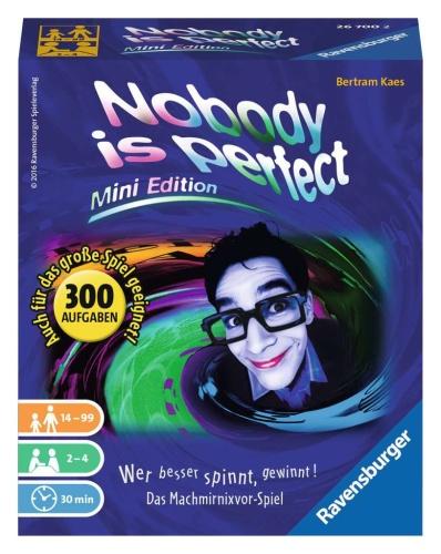 Ravensburger 26700 Nobody is perfect - Mini