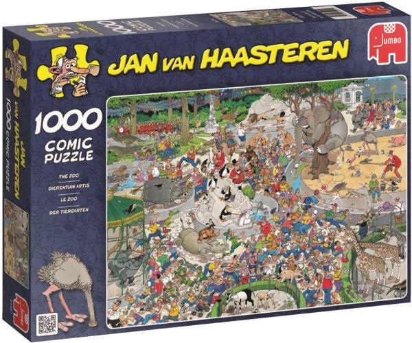 Jumbo 01491 Jan van Haasteren - Der Tiergarten 1000 Teile Puzzle