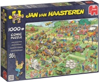 Jumbo 19021 Jan van Haasteren - Rasenmäherrennen...