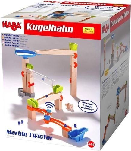 HABA 303964 Kugelbahn – Grundpackung Marble Twister