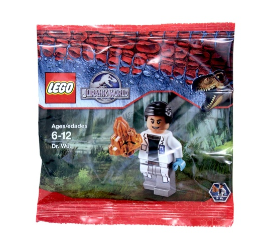 LEGO 5000193818 Jurassic World Dr. Wu polybag