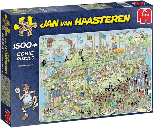 Jumbo 19088 Jan van Haasteren - Highland Games 1500 Teile Puzzle