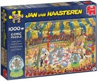 Jumbo 19089 Jan van Haasteren - Zirkus-Akrobatik 1000 Teile