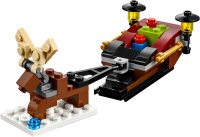 LEGO 40287 Monthly Mini Model 2018 December Sleigh Polybag