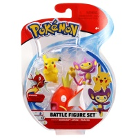 Pokemon Battle Figure Set Karpador Griffel Pikachu Wave 3