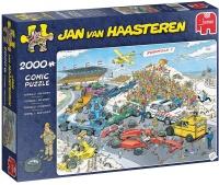 Jumbo 19097 Jan van Haasteren - Formel 1 Der Start 2000...