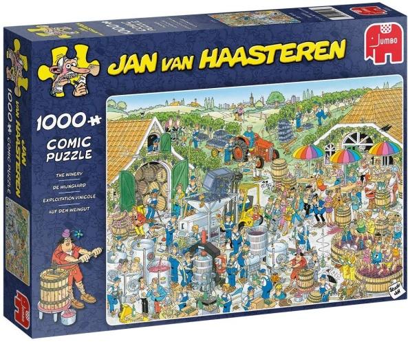 Jumbo 19095 Jan Van Haasteren - Auf dem Weingut 1000 Teile Puzzle