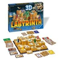 Ravensburger 26113 3D Labyrinth Familienspiel