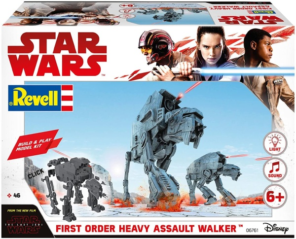 Revell 06761 Build & Play Star Wars First Order Heavy Assault Walker