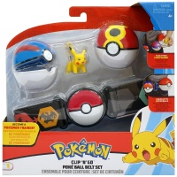 Pokemon Clip N Go Set Wave 4 Pokémon-Trainer Gürtelset...