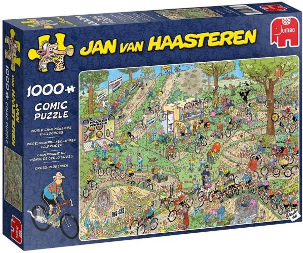 Jumbo 19174 Jan Van Haasteren - Cross-Radrennen 1000 Teile Puzzle