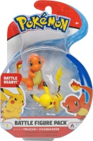 Pokemon Battle Figure Pack Pikachu und Glumanda Wave 4