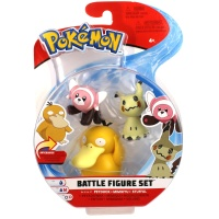 Pokemon Battle Figure Set Enton, Mimigma und Velursi Wave 4