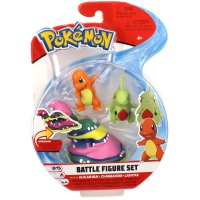 Pokemon Battle Figure Set Alola-Sleimok, Glumanda und...