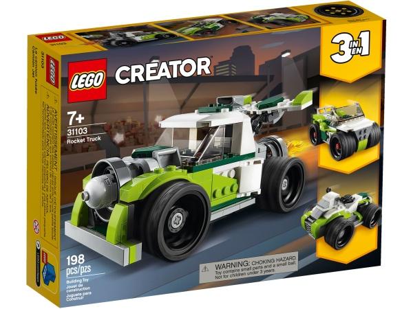 LEGO® 31103 Creator 3-in-1 Raketen Truck