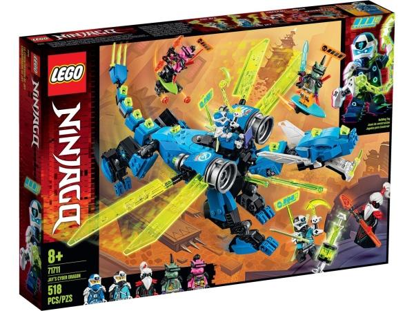 LEGO® 71711 NINJAGO Jays Cyber-Drache