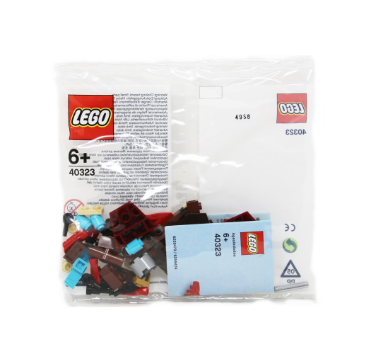 LEGO 40323 Monthly Mini Model 2019 March Build Viking Ship Polybag
