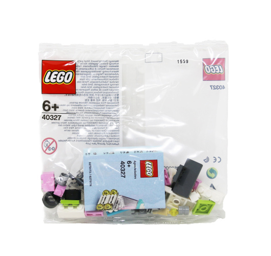 LEGO 40327 Monthly Mini Model 2019 July  Ice Cream Truck Polybag