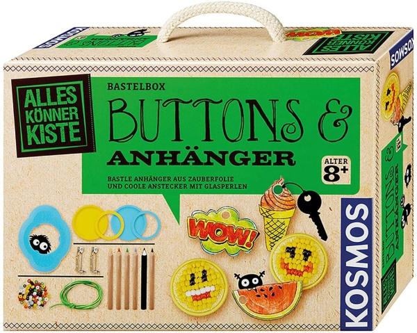 KOSMOS 60426 Buttons & Anhänger Bastle Anhänger aus Zauberfolie