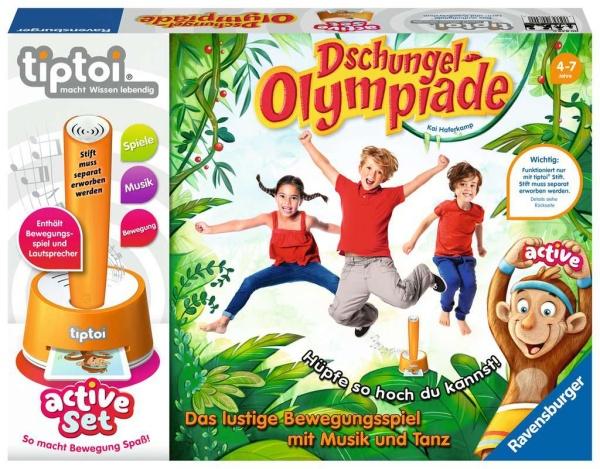 Ravensburger 00849 tiptoi® active Set Dschungel-Olympiade