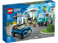 LEGO 60257 City Fahrzeuge Tankstelle